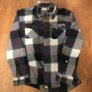 Men's Size-M Vans Flannel Shirt